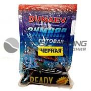 Прикормка зимняя Dunaev готовая Ice Ready 0,5кг Чёрная