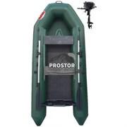 Лодка ПВХ Рекорд моторн -280РН реечный настил ликтрос