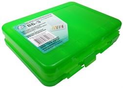 Коробка для воблеров и балансиров ВБ-3 / 2-х сторогняя (5+5) (200х160х45мм)