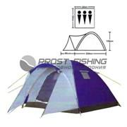 Палатка Lanyu 1637 3х-мест. / 220х220+90х155см